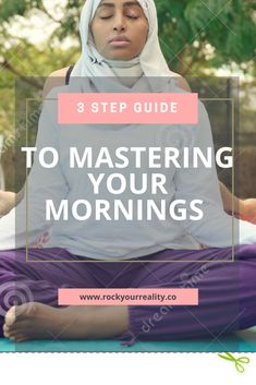I developed this Mastering Your Mornings guide because as I thought back to when I was battling depression, anxiety & overwhelm, I realized how valuable my morning routine was in my journey to feeling better.  However, at that time even the thought of making drastic changes was too much to bear.   BUT, I decided to make small shifts. One thing I did was develop a solid morning routine.