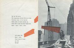 BAM ZAM BOOM! A Building Book by Eve Merriam (1972) | Sweet Juniper's Vintage Kids Books