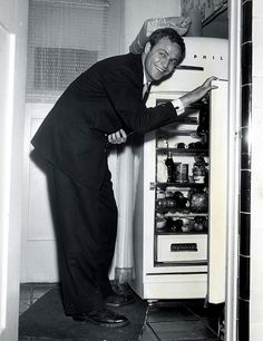 Marlon Brando in the kitchen
