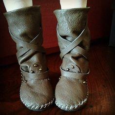 Indianini boots for  Feeple 60  stivali in vera pelle di Style4Bjd, €40.00