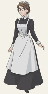 Ah Emma, from Victorian Romance Emma; I do have the costume for this character, but it just doesn't quite fit right.  Still plan on cosplaying as her one of these days, since this is my favorite all time anime series.