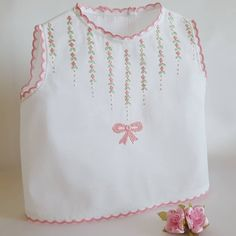 Best Picture For embroidery shirt For Your Taste You are looking for something, and it is going to tell you exactly what you are looking for, and you didn't find that picture. Here you will find the m Baby Embroidery, Shirt Embroidery, Hand Embroidery Designs, Embroidery Patterns, Dresses Kids Girl, Kids Outfits, Girls, Baby Dress Patterns, Baby Gown