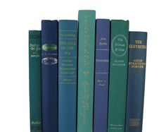 Vintage Books & Decorative Book Sets for Home by DecadesOfVintage