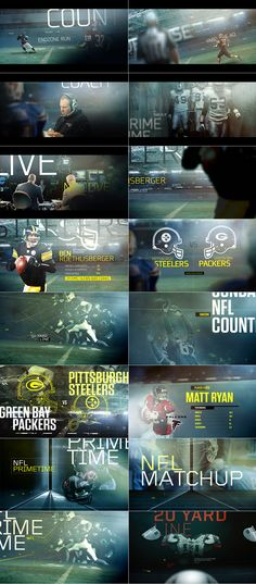 NFL Boards by Filipe Carvalho (randomthoughtpattern)