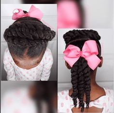Quick & Easy 5 Minute Hairstyle for Mini Naturals IG:@iamawog  #naturalhairmag #naturalhair