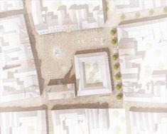 nova landschaftsarchitektur - All For Garden Cultural Architecture, Sacred Architecture, Landscape Architecture Design, Architecture Plan, Residential Architecture, Section Drawing Architecture, Terra Nova, Plan Sketch, Drawing Interior