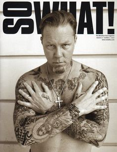 James Hetfield: James Alan Hetfield is the rhythm guitarist, co-founder, main songwriter, and lead vocalist for the American heavy metal band Metallica.