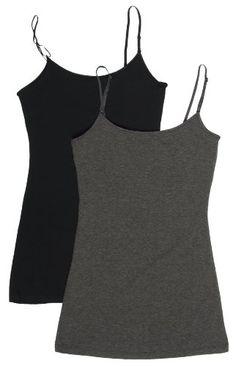 2 Pack Zenana Women's Basic Tank Tops Small Black, Charcoal Zenana Outfitters http://www.amazon.com/dp/B00FK6L0OO/ref=cm_sw_r_pi_dp_yKrqvb10NMTPM