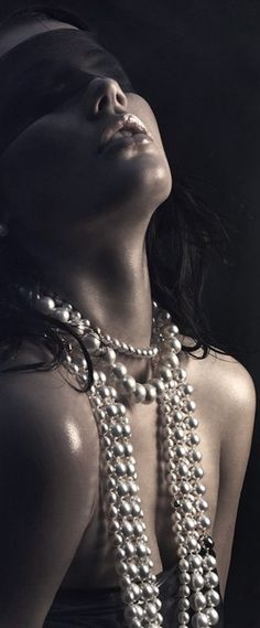 I said I adore being a girl and he thought I said I'd adore seeing some pearls. Anyway, he's old and I have my pearls. Life doesn't have to be difficult. http://chloethurlow.com/2014/08/platos-cave/