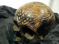 Real Human Skull OLD European Female Religious by skulltrader, $3250.00