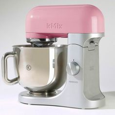 A Pink Kenwood Mixer is what every girlie girl needs in her kitchen! LOL <3