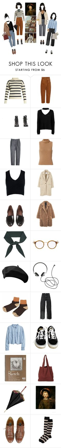 """Let's Meet At The Museum"" by silentmoonchild ❤ liked on Polyvore featuring Tabula Rasa, Hillier Bartley, Boohoo, Exclusive for Intermix, Sans Souci, MANGO, Rachel Comey, Chloé, Thom Browne and RE/DONE"