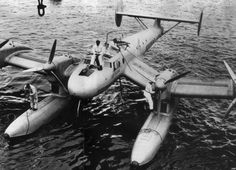 Blohm & Voss Ha 139 was a German all-metal inverted gull wing floatplane.