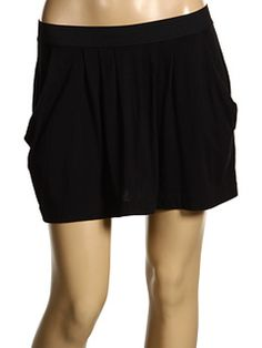juicy pleated pocket skirt
