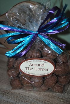 Around The Corner Candy: Chocolate Covered Peanuts