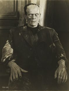 Boris Karloff in The Bride of Frankenstein directed by James Whale, 1935