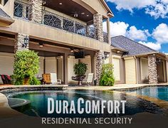Security Shutter, Hurricane Protection, Home & Work, Pearland TX Home Security Tips, Home Security Systems, Security Shutters, Pearland Tx, Residential Security, Hurricane Shutters, New Homes, Mansions, House Styles