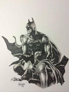 Batman and Robin by Mico Suayan