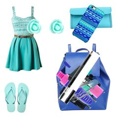 """Untitled #25"" by madfgoodwin on Polyvore featuring SwimSpot, Hermès, Barneys New York, Uncommon, Accessorize, Sigma Beauty, Wet n Wild, Manic Panic and Christian Dior"