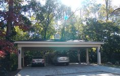 Traditional Home Carports Wood Design, Pictures, Remodel, Decor and Ideas
