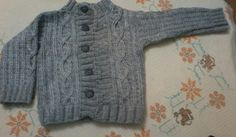 Crochet Woolen jacket for babies