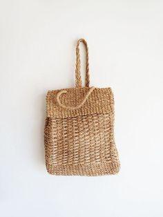 straw bag.
