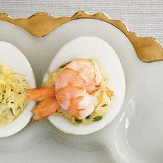 Creole Shrimp Deviled Eggs Recipe | MyRecipes.com