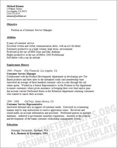 customer service resume templates httpwwwresumecareerinfocustomer