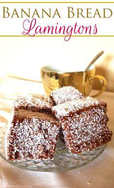 banana bread lamingtons easy holiday christmas cupavci coconut 3