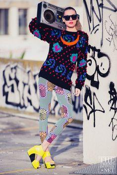 Street Style - Dasha Gold