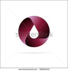 Oil drop logo  template. Abstract Symbol design