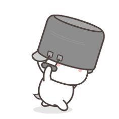 Cute Anime Cat, Cute Bunny Cartoon, Cute Cartoon Characters, Cute Cartoon Pictures, Cute Cat Gif, Cartoon Pics, Cartoon Jokes, Cute Panda Wallpaper, Cute Pokemon Wallpaper