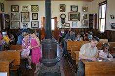 Old fashioned one-room country school house. Come see and learn at the OP Deanna Rose Farmstead