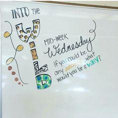 Whiteboard message