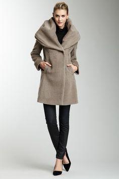 Janine Hooded Coat