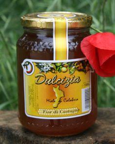 """Miele """"Dulcizia"""" di Castagno. Azienda produzione: Olicoop"""