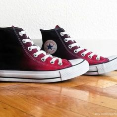 Women's Shoes, Me Too Shoes, Shoe Boots, Shoes Sneakers, Sneakers Women, Dance Shoes, Converse All Star, Red And Black Converse, Cool Converse