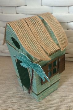 Stampin Up Home Sweet Home thinlets beach hut www.craftystamping.blogspot.co.uk