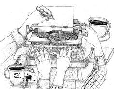 "Check out new work on my @Behance portfolio: ""¿Qué significa escribir?"" http://be.net/gallery/49998545/Qu-significa-escribir"