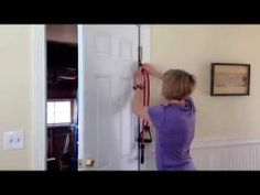 ▶ Getting Started Pull Ups using Bands  Door Attachment - YouTube