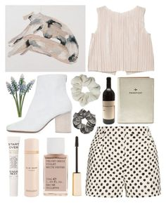 """""""THE MOONLIT NIGHTS"""" by daisyprint ❤ liked on Polyvore featuring Topshop, Maison Margiela, MANGO, Sunday Riley, Elie Saab, Korres, Stila, Dolce&Gabbana and FOSSIL"""