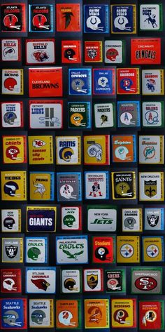 1979 Fleer Team Action Sticker Football Cards Complete Your Set U Pick From List