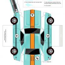 Captivating Paper Car : Paper Toys Car Cars Paper Toys By Paul Kouppas At Coroflot Paper Car Template Paper Car Tags