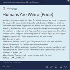 Humans Are Weird / Space Australia Pride