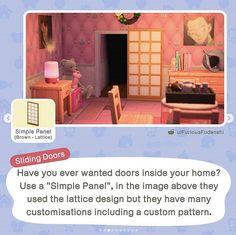 Animal Crossing Wild World, Animal Crossing Guide, Animal Crossing Qr Codes Clothes, Animal Crossing Pocket Camp, Pokemon, Happy Home Designer, Diy Projects For Beginners, Lattice Design, Animal Games