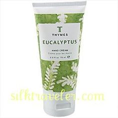 Thymes Eucalyptus Hand Cream    purse size 2.5 oz.