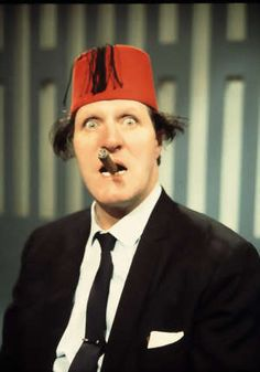 In this hilarious recollection of his friend Tommy Cooper, CLEMENT FREUD recalls a genius - and his one-liners - who could reduce us to tears of laughter . The Comedian, British Comedy, British Actors, Tommy Cooper, Comedy Actors, Classic Comedies, Laurel And Hardy, Famous Faces, Funny People