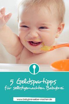Babybrei selber machen und damit auch noch Geld sparen? Ich zeige dir wie es geht und verrate dir meine 5 besten Tipps!