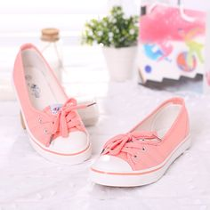 2015 novos sapatos casuais apartamentos para as mulheres verão nova chegada boca rasa sapatos baixos sapatas de lona moda casual feminina em Sapato baixo de Sapatos no AliExpress.com | Alibaba Group