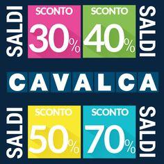 #Saldi speciali da #Cavalca a #Varese e #Arcisate. Vi aspettiamo!